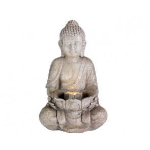 Buddha s LED podsvietením