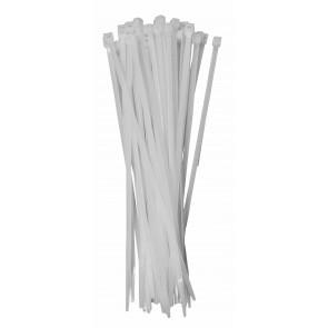 Káblové pásky bílá 150mm 100Ks
