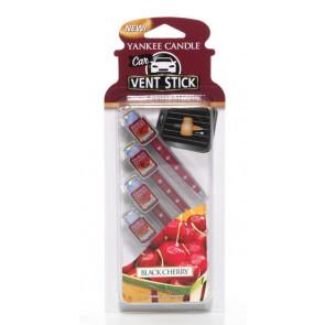 YANKEE CANDLE kolíčky do auta - BLACK CHERRY 4ks