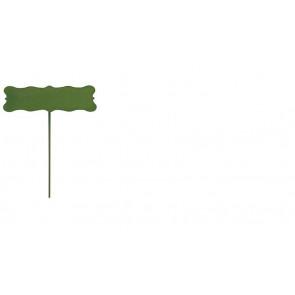Zápich cedulka zelená EGO