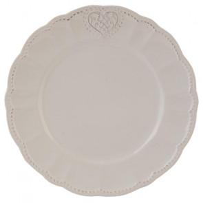 Dezertný tanier 21 cm, srdce