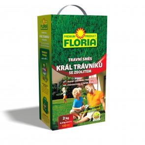FLORIA TS Král trávníků 2 kg+zeolit 800g příbal