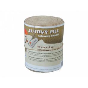 Filc zahradní bandáž 15cmx4m/juta/