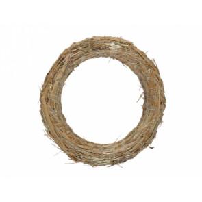 Kruh d40/8cm slámový
