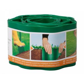 Obruba plastová 9x0.1m zelená