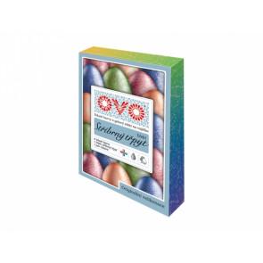 Barva na vajíčka TŘPYT  4barvy 5ml + rukavice