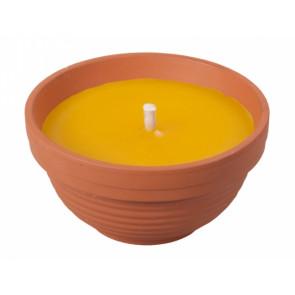 Svíčka CITRONELA d11x6h žardina+1knot/190g