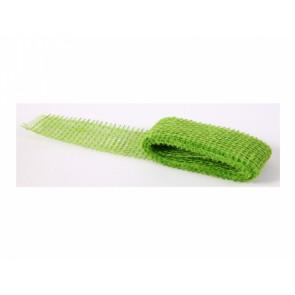 Jutová stuha š5cm/2m zelená