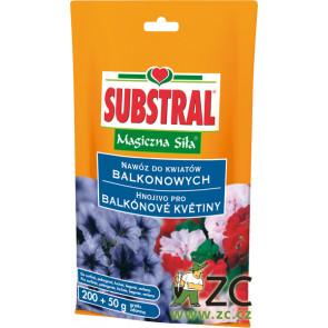 Substral - krystalické balkonové květiny 250g
