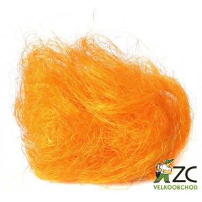 Sisalové vlákno 30g oranžové ZC