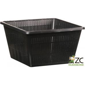 Koš na vodní rostliny hranatý 23x23x19cm (TZ102