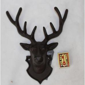 Jeleň liatina 27x21x10cm