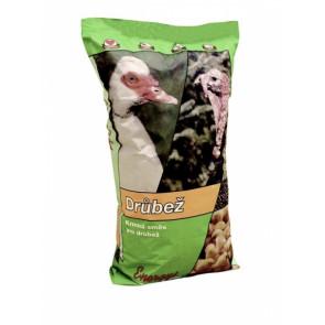 Krmivo pro kuřata Midi, sypká směs 25kg