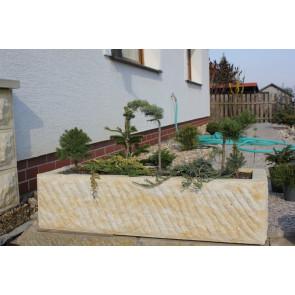 Záhradný koryto pieskovec JARDA 1000x350x250