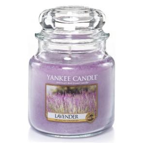 YANKEE CANDLE Classic střední - Lavender 411g