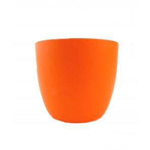 Obal na květináč Milano 13cm (oranžový)