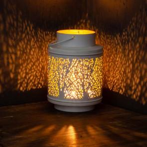 Kovová lampáš - strom
