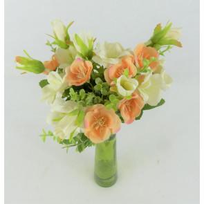 Umelá kytice pivoniek oranžová