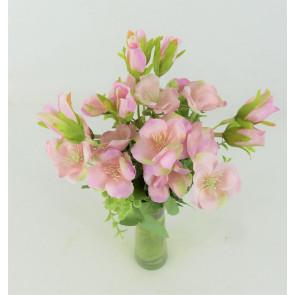 Umelá kytice pivoniek ružová
