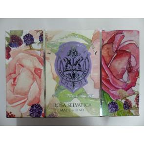 Darčekové mydlo RUŽA s malinami 300g
