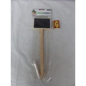 Zápich, značkovač k rastlinám Drevený 2ks