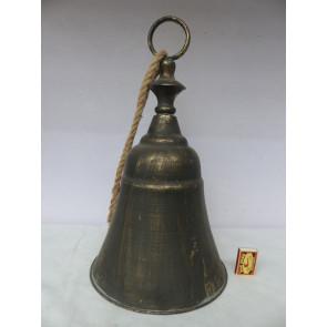 Zvonček plech 27cm