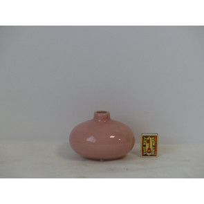 Fľaša ružová h9 14,3x12 HAK