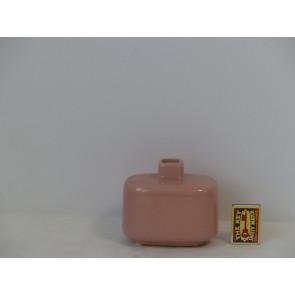 Fľaša ružová h10,5 12x8,5 HAK
