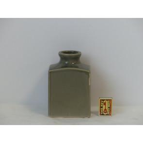 Fľaša šedá h17 11x8 HAK
