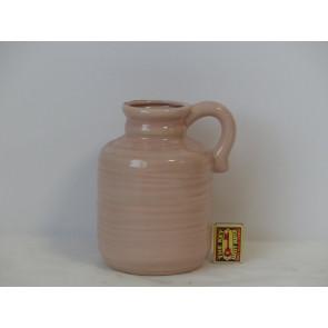 Džbán ružový h20 d13,5 HAK
