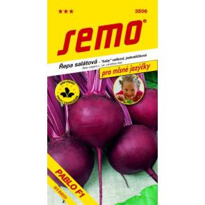 Řepa salátová PABLO F1 jednoklíčková 1g