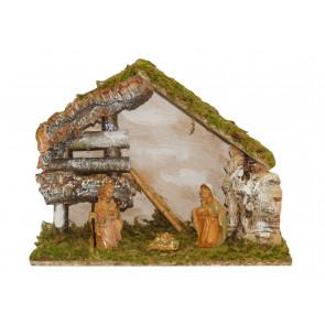 Betlehem 32x16x24cm 3ks figúrok 10cm