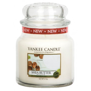 YANKEE CANDLE Classic střední - Shea Butter 411g