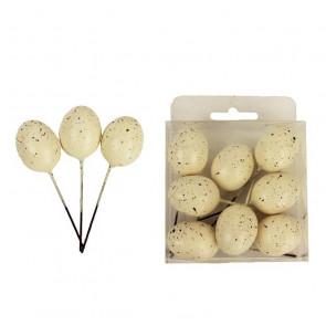 Dekoračné vajíčka 8ks K-Mo x1402