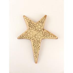 Šamotová hvězda - zápich